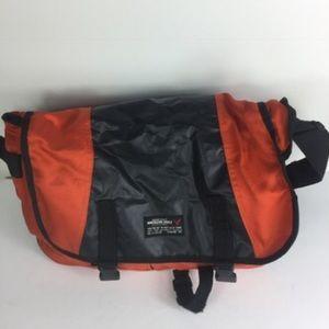 American Eagle Red Black Travel Bag B3